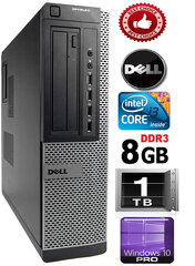DELL Optiplex 7010 Core i3-3220 3.30GHZ 8GB 1TB DVD Windows 10 Professional kaina ir informacija | DELL Optiplex 7010 Core i3-3220 3.30GHZ 8GB 1TB DVD Windows 10 Professional | pigu.lt