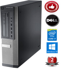 Dell Optiplex 7010 Intel Core i7-3770 4GB 500GB HDD Windows 10 Professional kaina ir informacija | Dell Optiplex 7010 Intel Core i7-3770 4GB 500GB HDD Windows 10 Professional | pigu.lt