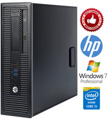 HP ProDesk 600 G1 i3-4130 8GB 120SSD Windows 7 Professional kaina ir informacija | HP ProDesk 600 G1 i3-4130 8GB 120SSD Windows 7 Professional | pigu.lt