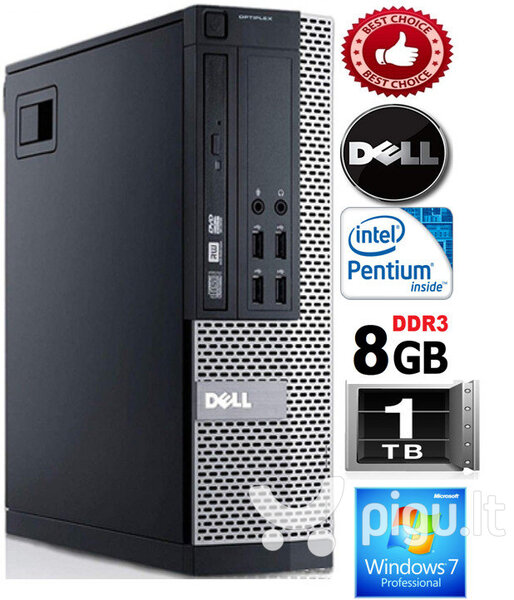 Dell Optiplex 790 G620 8GB 1TB HDD Windows 7 Professional