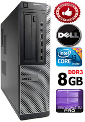 DELL Optiplex 7010 Core i3-3220 3.30GHZ 8GB 1TB GT1030 2gb DVD Windows 10 Professional kaina ir informacija | DELL Optiplex 7010 Core i3-3220 3.30GHZ 8GB 1TB GT1030 2gb DVD Windows 10 Professional | pigu.lt