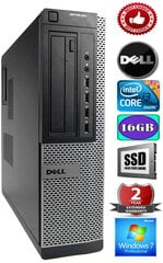 DELL Optiplex 7010 Core i3-3220 3.30GHZ 16GB 240GB SSD GT1030 2gb DVD Windows 7 Professional kaina ir informacija | DELL Optiplex 7010 Core i3-3220 3.30GHZ 16GB 240GB SSD GT1030 2gb DVD Windows 7 Professional | pigu.lt