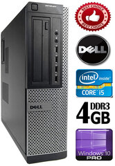 DELL Optiplex 7010 Core i5-3470 4GB 320GB DVD Windows 10 Professional kaina ir informacija | DELL Optiplex 7010 Core i5-3470 4GB 320GB DVD Windows 10 Professional | pigu.lt
