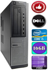 DELL Optiplex 7010 Core i5-3470 16GB 250GB DVD Windows 10 Professional kaina ir informacija | DELL Optiplex 7010 Core i5-3470 16GB 250GB DVD Windows 10 Professional | pigu.lt