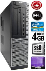 DELL Optiplex 7010 Core i5-3470 4GB 240SSD DVD Windows 10 Professional kaina ir informacija | DELL Optiplex 7010 Core i5-3470 4GB 240SSD DVD Windows 10 Professional | pigu.lt
