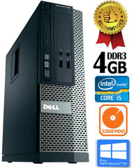 Dell Optiplex 390 i5-2400 4GB 320GB DVDRW Windows 10 Professional kaina ir informacija | Dell Optiplex 390 i5-2400 4GB 320GB DVDRW Windows 10 Professional | pigu.lt