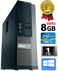 Dell Optiplex 390 i5-2400 8GB 1TB DVDRW Windows 10 Professional kaina ir informacija | Dell Optiplex 390 i5-2400 8GB 1TB DVDRW Windows 10 Professional | pigu.lt