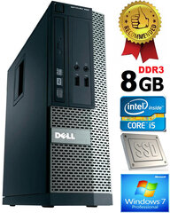 Dell Optiplex 390 i5-2400 8GB 480GB SSD DVDRW Windows 7 Professional kaina ir informacija | Dell Optiplex 390 i5-2400 8GB 480GB SSD DVDRW Windows 7 Professional | pigu.lt