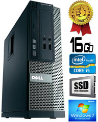 Dell Optiplex 390 i5-2400 16GB 240GB SSD DVDRW Windows 7 Professional kaina ir informacija | Dell Optiplex 390 i5-2400 16GB 240GB SSD DVDRW Windows 7 Professional | pigu.lt
