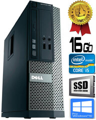 Dell Optiplex 390 i5-2400 16GB 240GB SSD DVDRW Windows 10 Professional kaina ir informacija | Dell Optiplex 390 i5-2400 16GB 240GB SSD DVDRW Windows 10 Professional | pigu.lt