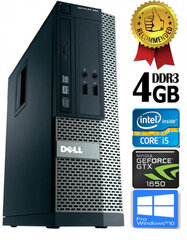 Dell Optiplex 390 i5-2400 4GB 500GB GTX1650 4GB DVDRW Windows 10 Professional kaina ir informacija | Dell Optiplex 390 i5-2400 4GB 500GB GTX1650 4GB DVDRW Windows 10 Professional | pigu.lt