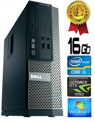 Dell Optiplex 390 i5-2400 16GB 480SSD GTX1650 4GB DVDRW Windows 7 Professional kaina ir informacija | Dell Optiplex 390 i5-2400 16GB 480SSD GTX1650 4GB DVDRW Windows 7 Professional | pigu.lt