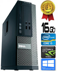 Dell Optiplex 390 i5-2400 16GB 480SSD GTX1650 4GB DVDRW Windows 10 Professional kaina ir informacija | Dell Optiplex 390 i5-2400 16GB 480SSD GTX1650 4GB DVDRW Windows 10 Professional | pigu.lt