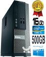 Dell Optiplex 390 i5-2400 16GB 500GB DVDRW Windows 10