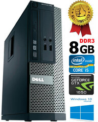 Dell Optiplex 390 i5-2400 8GB 1TB GTX1650 4GB DVDRW Windows 10 kaina ir informacija | Dell Optiplex 390 i5-2400 8GB 1TB GTX1650 4GB DVDRW Windows 10 | pigu.lt