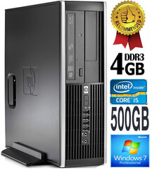 HP Compaq Elite 8100 Intel® Core™ i5-650 4GB 500GB Windows 7 Professional kaina ir informacija | HP Compaq Elite 8100 Intel® Core™ i5-650 4GB 500GB Windows 7 Professional | pigu.lt