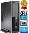HP Compaq Elite 8100 Intel® Core™ i5-650 8GB 480GB SSD Windows 7 Professional kaina ir informacija | Stacionarūs kompiuteriai | pigu.lt