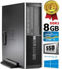 HP Compaq Elite 8100 Intel® Core™ i5-650 8GB 480GB SSD Windows 10 kaina ir informacija | HP Compaq Elite 8100 Intel® Core™ i5-650 8GB 480GB SSD Windows 10 | pigu.lt