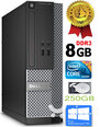 Dell Optiplex 7020 i3-4130 3.4Ghz 8GB 250GB HDD Windows 10 Professional (Renew)