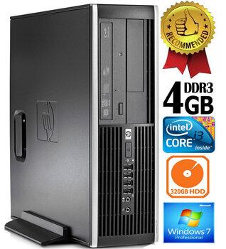 HP Compaq Elite 8200 Intel® Core™ i3-2100 4GB 320GB Windows 7 Professional kaina ir informacija | Stacionarūs kompiuteriai | pigu.lt