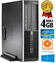 HP Compaq Elite 8300 Intel® Core™ i5-3470 4GB 320GB Windows 10 kaina ir informacija | Stacionarūs kompiuteriai | pigu.lt