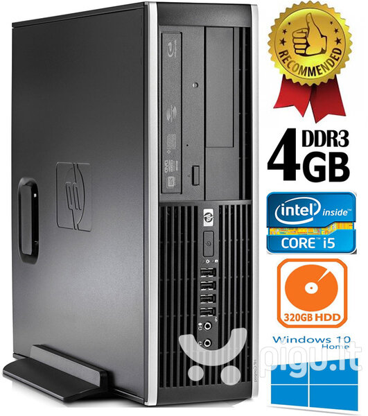 HP Compaq Elite 8300 Intel® Core™ i5-3470 4GB 320GB Windows 10