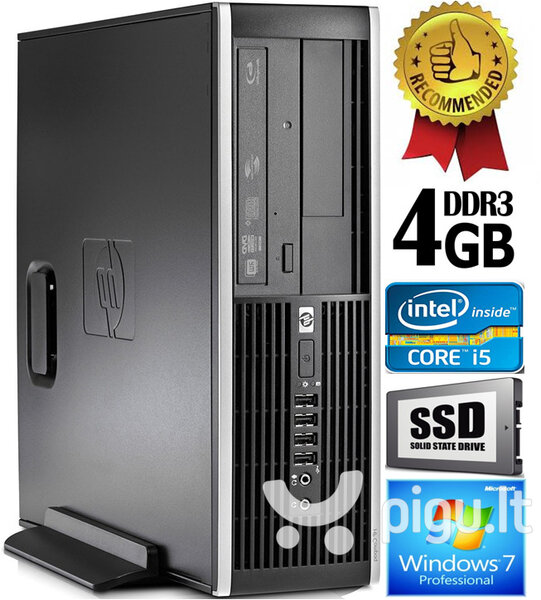 HP Compaq Elite 8300 Intel® Core™ i5-3470 4GB 240GB SSD Windows 7 Professional