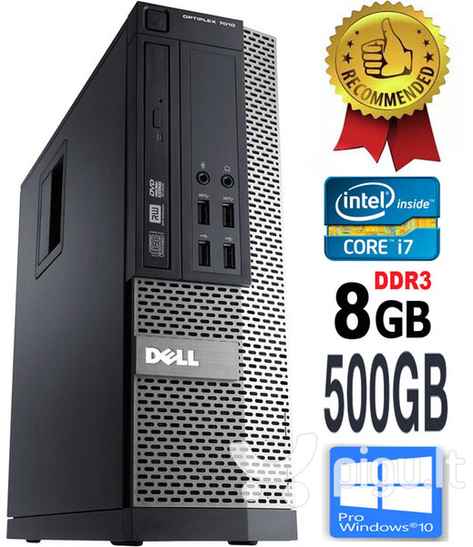 Dell Optiplex 790 i7-2600 8GB 500GB Windows 10 Professional