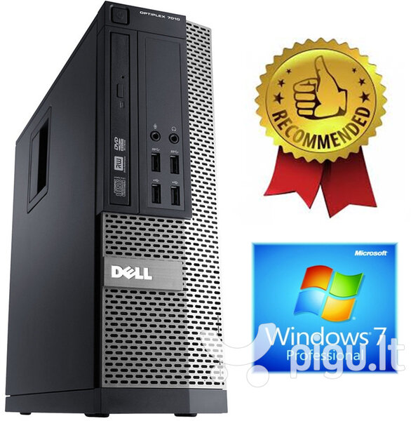 Dell Optiplex 790 i7-2600 4GB 240GB SSD Windows 7 Professional