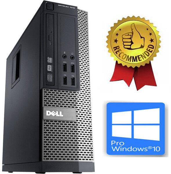 Dell Optiplex 7010 i5-3470 6GB 240GB SSD Windows 10 Professional kaina ir informacija | Stacionarūs kompiuteriai | pigu.lt