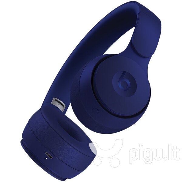 Belaidės ausinės Beats Solo Pro Wireless Noise Cancelling, Dark Blue internetu