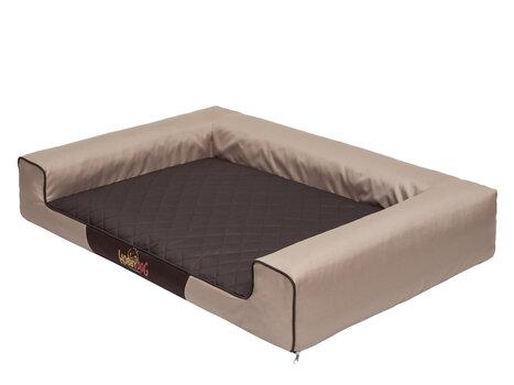 Guolis Victoria XXL, smėlio/rudos spalvos kaina ir informacija | Guoliai, pagalvėlės | pigu.lt