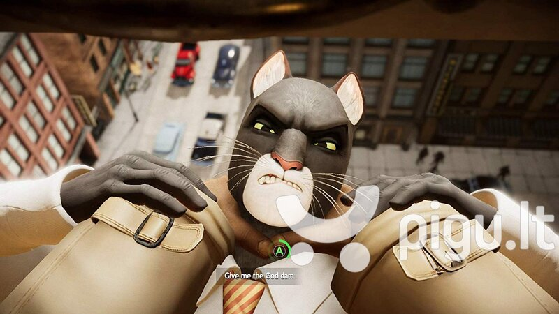 Blacksad: Under the Skin - Limited Edition NSW atsiliepimas