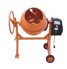 Betono maišyklė Bauswern BAU125-550W, 125 l kaina ir informacija | Betono maišyklės | pigu.lt