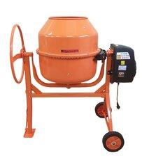 Betono maišyklė Bauswern BAU200-850W, 200 l kaina ir informacija | Betono maišyklės | pigu.lt