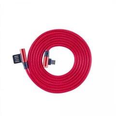Sbox USB-MICRO-90R, USB->Micro USB 90 M/M, 1.5 m kaina ir informacija | Laidai telefonams | pigu.lt