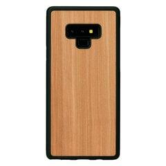 Man&Wood Nugarėlė skirta Samsung Galaxy Note 9, Cappuccino, Juoda kaina ir informacija | Telefono dėklai | pigu.lt