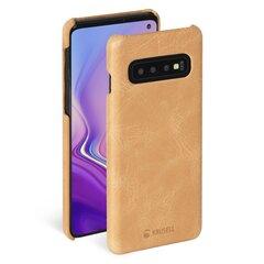 Krusell Sunne Cover, skirtas Samsung Galaxy S10, smėlio kaina ir informacija | Telefono dėklai | pigu.lt