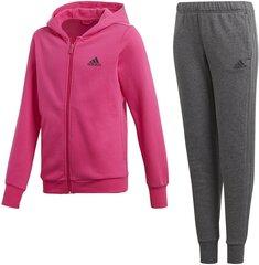 Sportinis kostiumas mergaitėms Adidas Yg Hood Cot Ts kaina ir informacija | Komplektai mergaitėms | pigu.lt