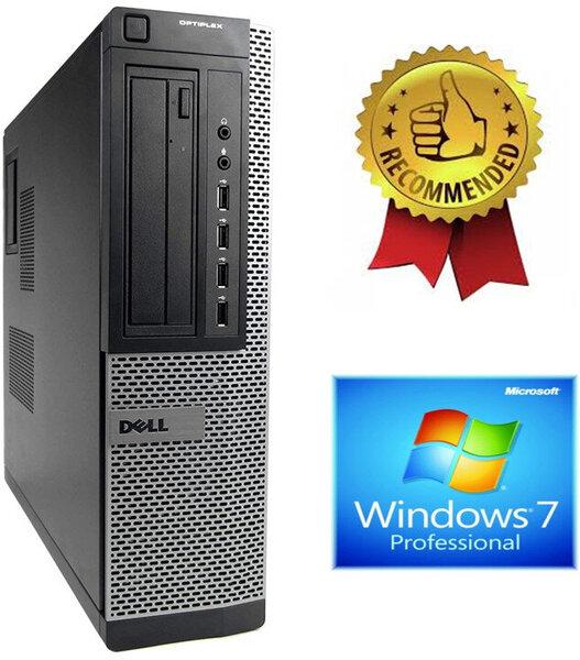Dell Optiplex 7010 Desktop i5-2500 3.30GHZ 4GB 240GB SSD + 2000GB HDD Windows 7 Professional kaina ir informacija | Stacionarūs kompiuteriai | pigu.lt