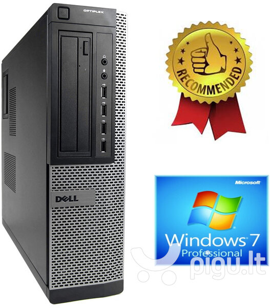 Dell Optiplex 7010 Desktop i5-2500s 4GB 240GB SSD + 500GB HDD Windows 7 Professional
