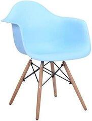 4-ių kėdžių komplektas Avanti Hugo, mėlynas kaina ir informacija | Virtuvės ir valgomojo kėdės | pigu.lt