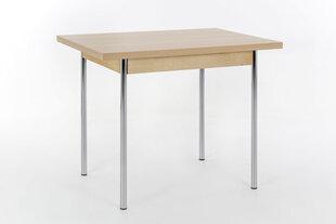Išskleidžiamas stalas MC Akcent Bonn II, ąžuolo spalvos kaina ir informacija | Virtuvės ir valgomojo stalai, staliukai | pigu.lt
