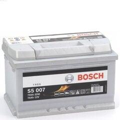 Akumuliatorius Bosch 74Ah 750A S5007 kaina ir informacija | Akumuliatoriai | pigu.lt