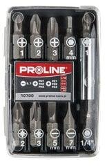 Galvučių rinkinys 10vnt PROLINE kaina ir informacija | Mechaniniai įrankiai | pigu.lt