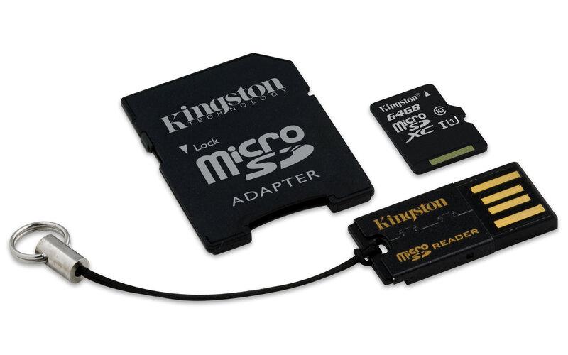 Atminties kortelėKingston microSDHC 32GB CL4 + skaitytuvas ir adapteris kaina