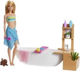 Lėlės Barbie ir jos šunyčio SPA rinkinys, GJN32 kaina ir informacija | Lėlės Barbie ir jos šunyčio SPA rinkinys, GJN32 | pigu.lt