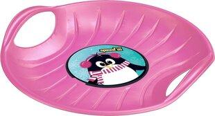 Plastikinė apvali čiuožynė Prosperplast Speed M, rožinė kaina ir informacija | Plastikinė apvali čiuožynė Prosperplast Speed M, rožinė | pigu.lt