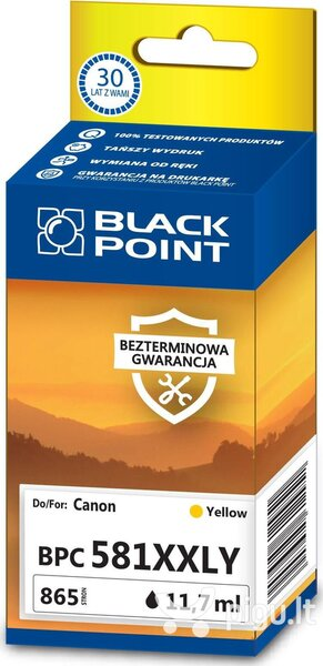 Black Point BPC581XXLY, geltona