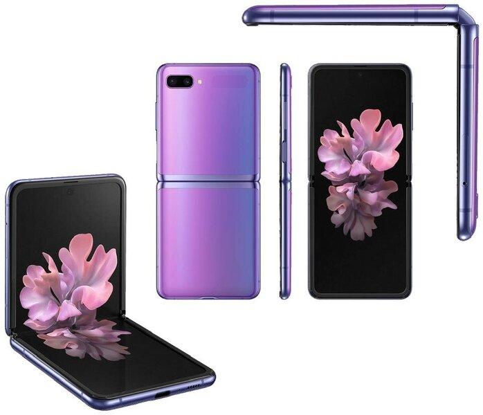 Samsung Galaxy Z Flip, 256GB, Mirror Purple
